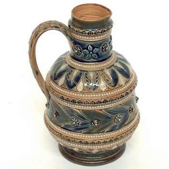 6 Inch Doulton jug by Elizabeth A. Sayers