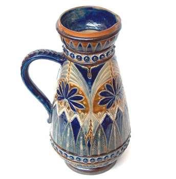 9 Inch Doulton jug by Elizabeth A. Sayers