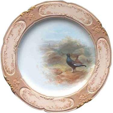 Doulton plate designed by Robert Allen