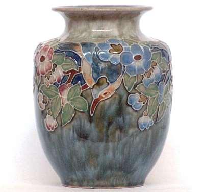 Vera Huggins floral vase