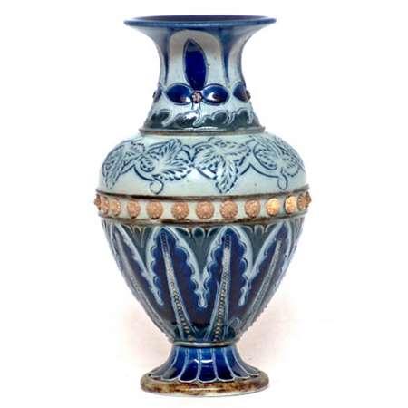 Doulton vase by Bessie Youatt